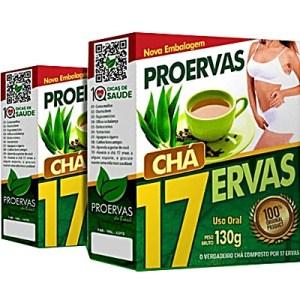 Chá 17 ervas emagrece Cha 17 ervas funciona