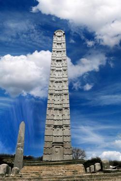 Axum Obelisk, Ethiopia. Erected in the 4th Century AD