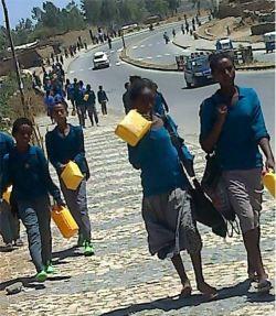 Water shortage in Mekelle