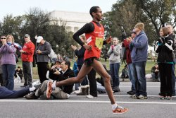 Ethiopian runner overcame trauma of torture to compete in the Philadelphia Marathon