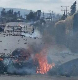 Protesters shut down main highway to Gondar and Gojjam