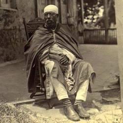 A rare Menelik II photo