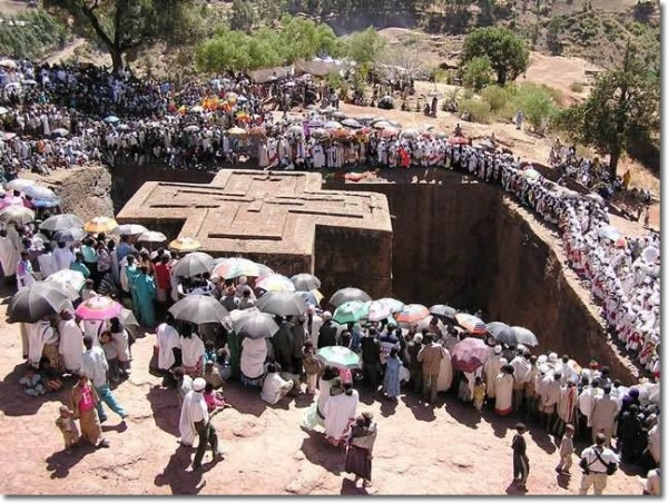 Why do Ethiopians celebrate Christmas on January 7th?