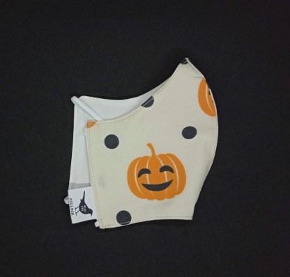 MONDMASKER Halloween Pompoen
