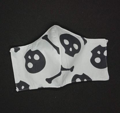 MONDMASKER Halloween Skulls 01