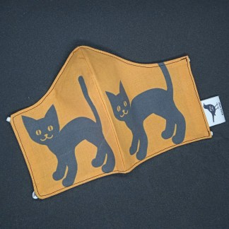 MONDMASKER Zwarte kat 1