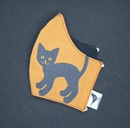 MONDMASKER Zwarte kat