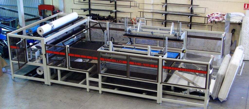 máquinas que embolsan colchones
