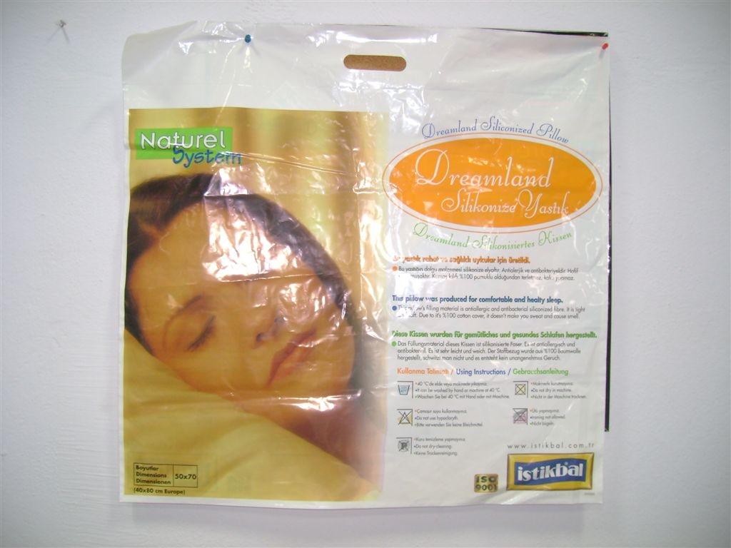 Maquinas para embolsado de almohadas y edredones