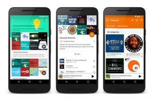 Podcasts i Google Play Music