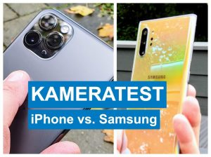 Kameratest iPhone vs Samsung
