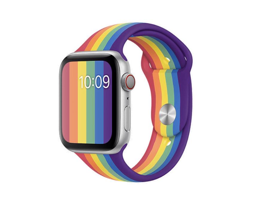 Apple Watch Series 5 med ny Price Edition sportsrem (Foto: Apple)