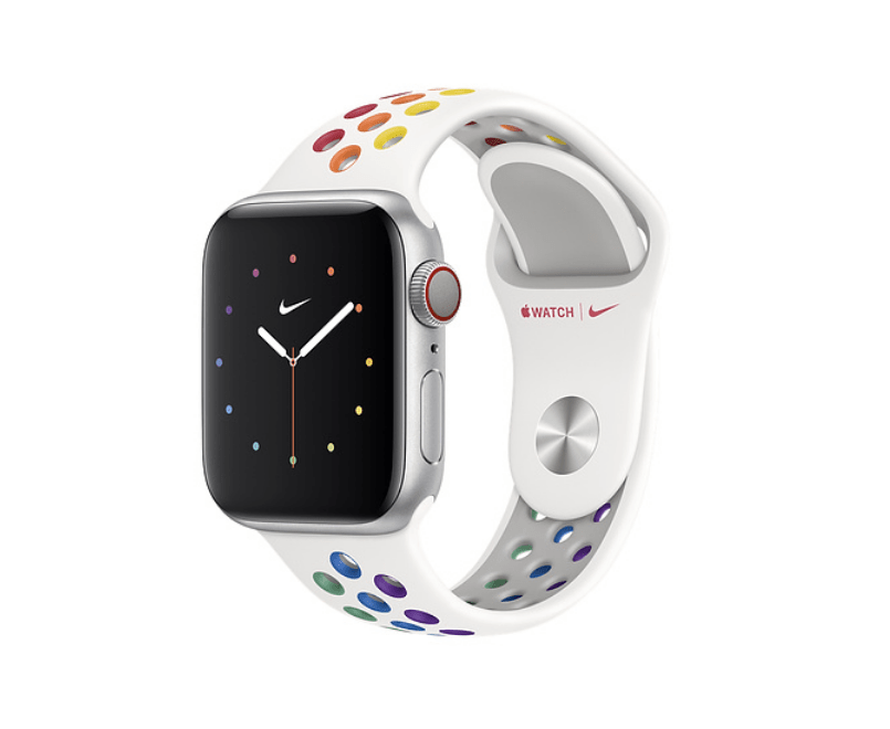 Apple Watch Series 5 med ny Price Edition Nike sportsrem (Foto: Apple)