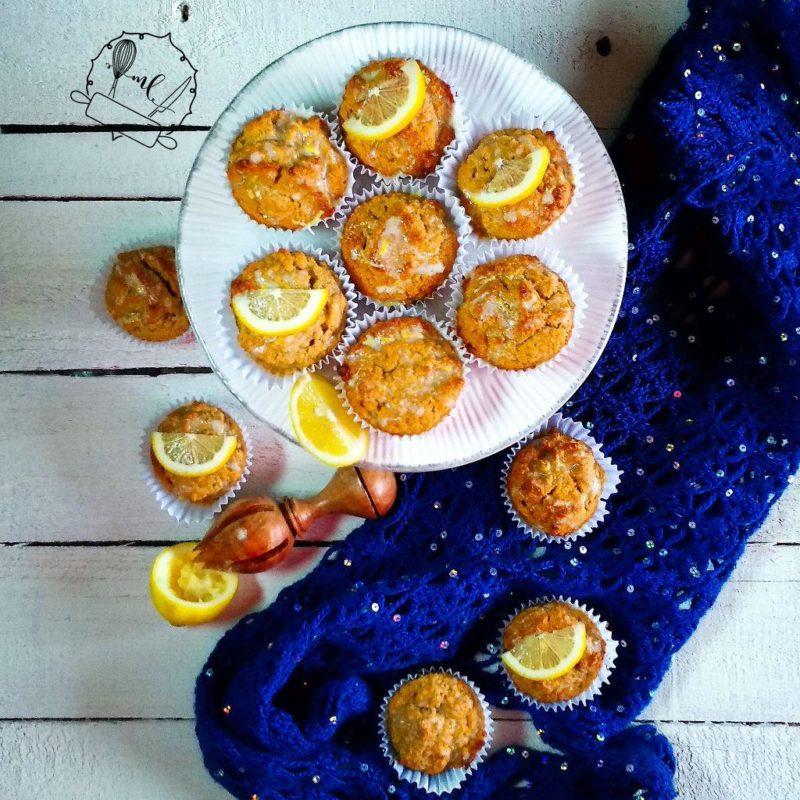 muffins de almendra y limon