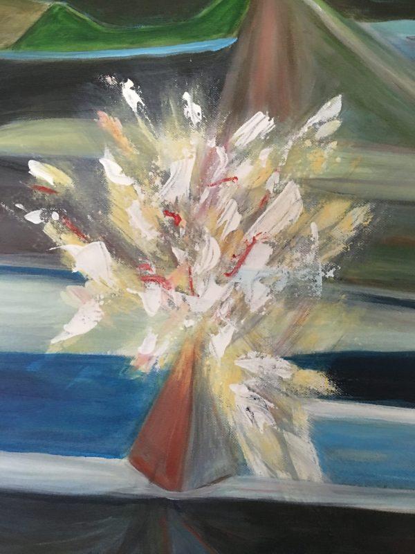 Peinture Buisson Ardant détail