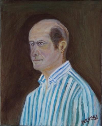 Peinture Portrait E - Mérèse