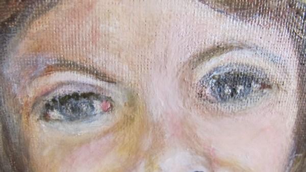 Peinture Il Sorriso Détail - Mérèse