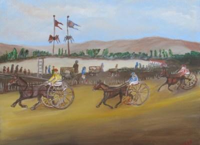 Peinture Trio de Tête - Mérèse