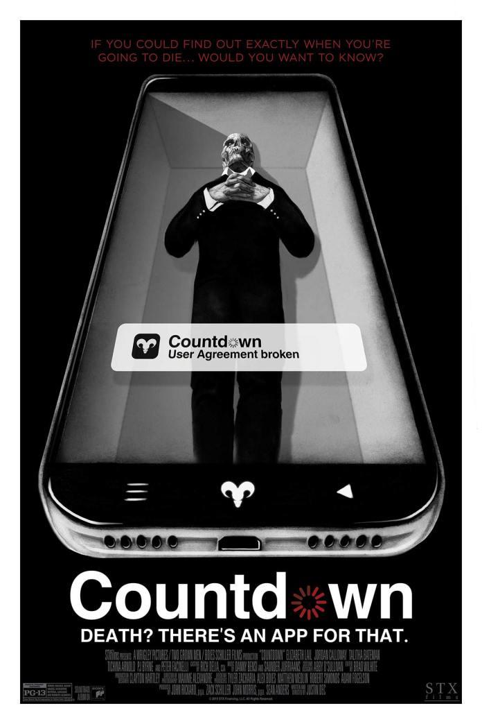 Countdown Poster by Randy Ortiz