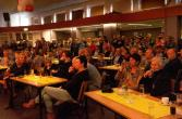 volle zaal!