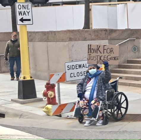 — Downtown Minneapolis Images Bracing for Riots as Trial Comes to a Close
