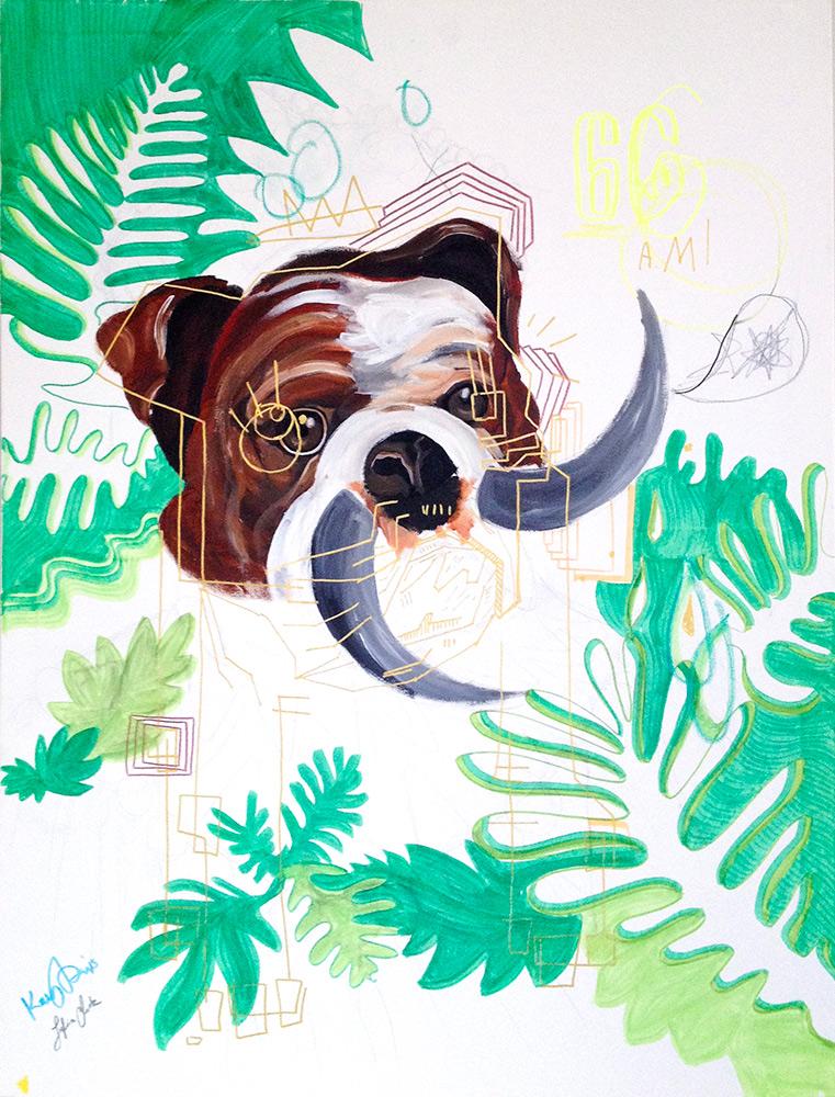 Horned Bull Dog