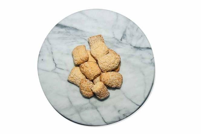 sesame biscotti