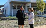 Osuna visita el Centro Sociosanitario para personas con enfermedades neurodegenerativas