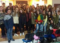 Los ganadores del  I Certamen de Flashmob contra la Violencia de Género viajan a Toledo