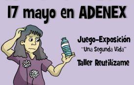"""ADENEX celebra el""""Día del Reciclaje en Mérida"""" el jueves 17 en la Casa del Sol"""
