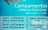 El viernes termina el plazo de inscripción para tres de los turnos de los campamentos inclusivos