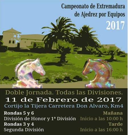 El Club de Ajedrez Cibeles de Mérida organiza este sábado el Campeonato de Extremadura por equipos de ajedrez