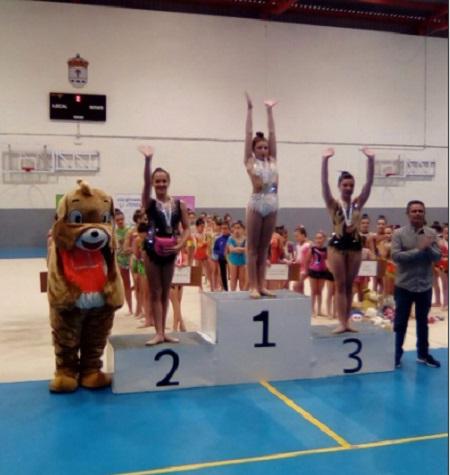 La gimnasia rítmica protagonista el pasado sábadoen Calamonte