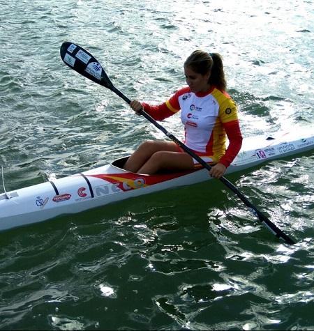 La piragüista emeritense Estefanía Fernández competirá en la Copa del Mundo este fin de seman