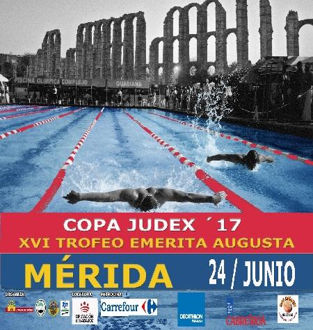 Este sábado final de la Copa JUDEX 2017 de natación y XVI Trofeo Augusta Emérita en la piscina de Nueva Ciudad