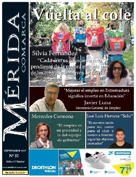 El periódico MeridaComarca, de Septiembre, ya en sus lugares habituales de distribución