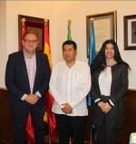 Rodríguez Osuna recibe al embajador de Nicaragua en España, Carlos Midence