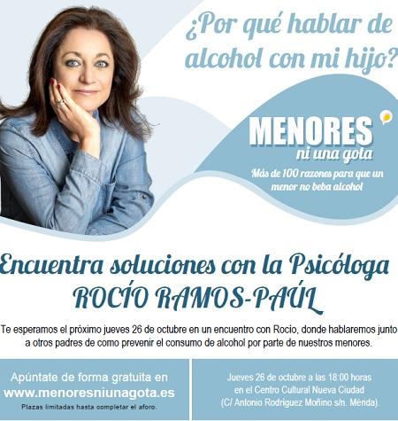 Rocío Ramos-Paúl, Supernanny, se reunirá con familias de Mérida para ayudarles a prevenir el consumo de alcohol en menores