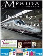 El periódico MeridaComarca de Noviembre, ya se encuentra en sus lugares habituales de distribución