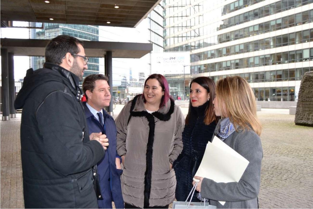 Extremadura y Castilla-La Mancha exigen en Bruselasla mejora del corredor entre Mérida y Puertollano