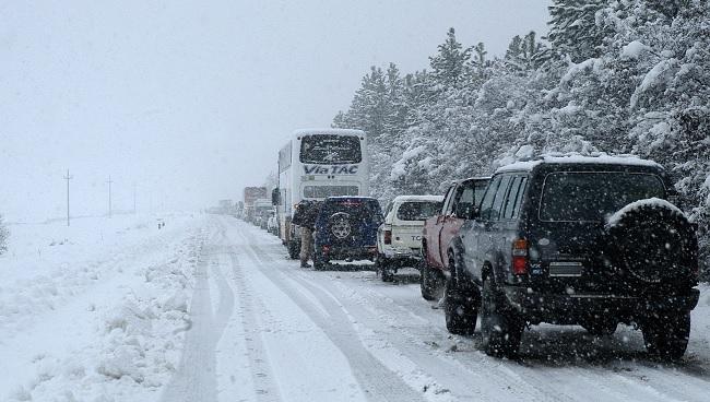 El 112 de Extremadura activa la alerta amarilla por nieve en el norte de Cáceres