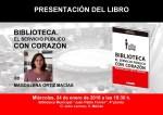 'Biblioteca: El servicio público con corazón' de Magdalena Ortíz se presentará el 24 de Enero