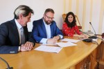 El Ayuntamiento firma un convenio con UCETA para el desarrollo de nuevos proyectos empresariales