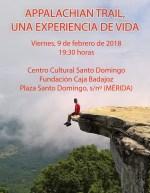 El primer español en completar en solitario la Ruta de los Apalaches dará una conferencia en Mérida