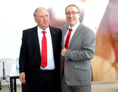 El Director General de SEAT España, Mikel Palomera, visita Gedauto Car en Mérida