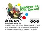 """""""Sabores de Don Carnal"""" de Vía de la Tapa mejor tapa del Carnaval Romano"""