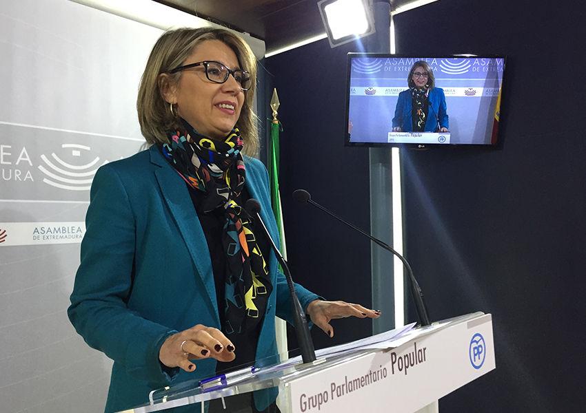 """El PP recuerda a la Junta que """"Extremadura lidera el paro femenino cada '8M' desde hace tres años"""""""