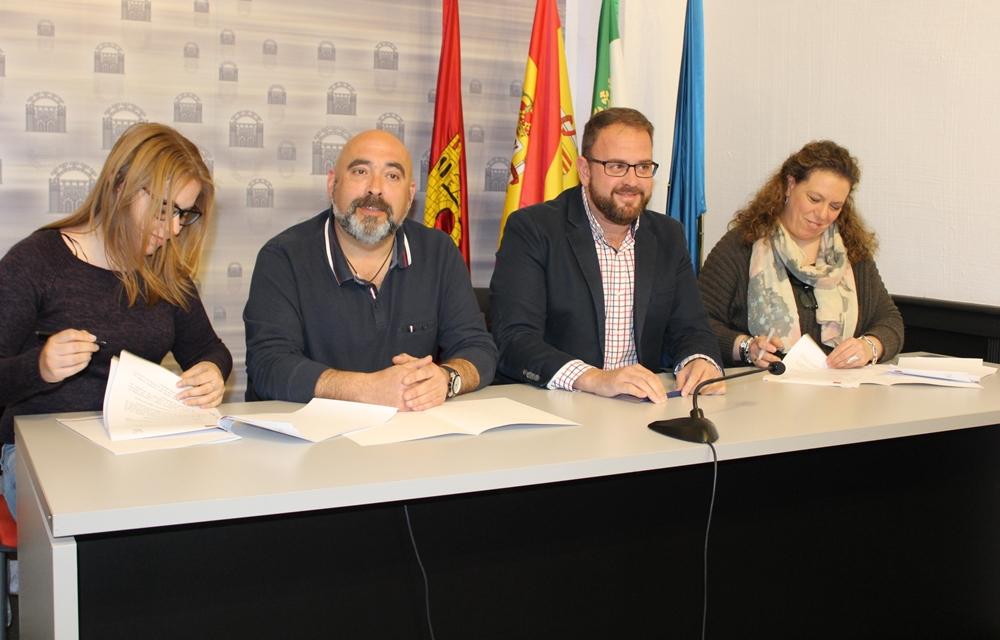Mérida Participa y PSOE firman un acuerdo para aprobar el presupuesto de 2018