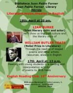 Literatura, música y lengua inglesa en la Biblioteca Municipal Juan Pablo Forner de Mérida