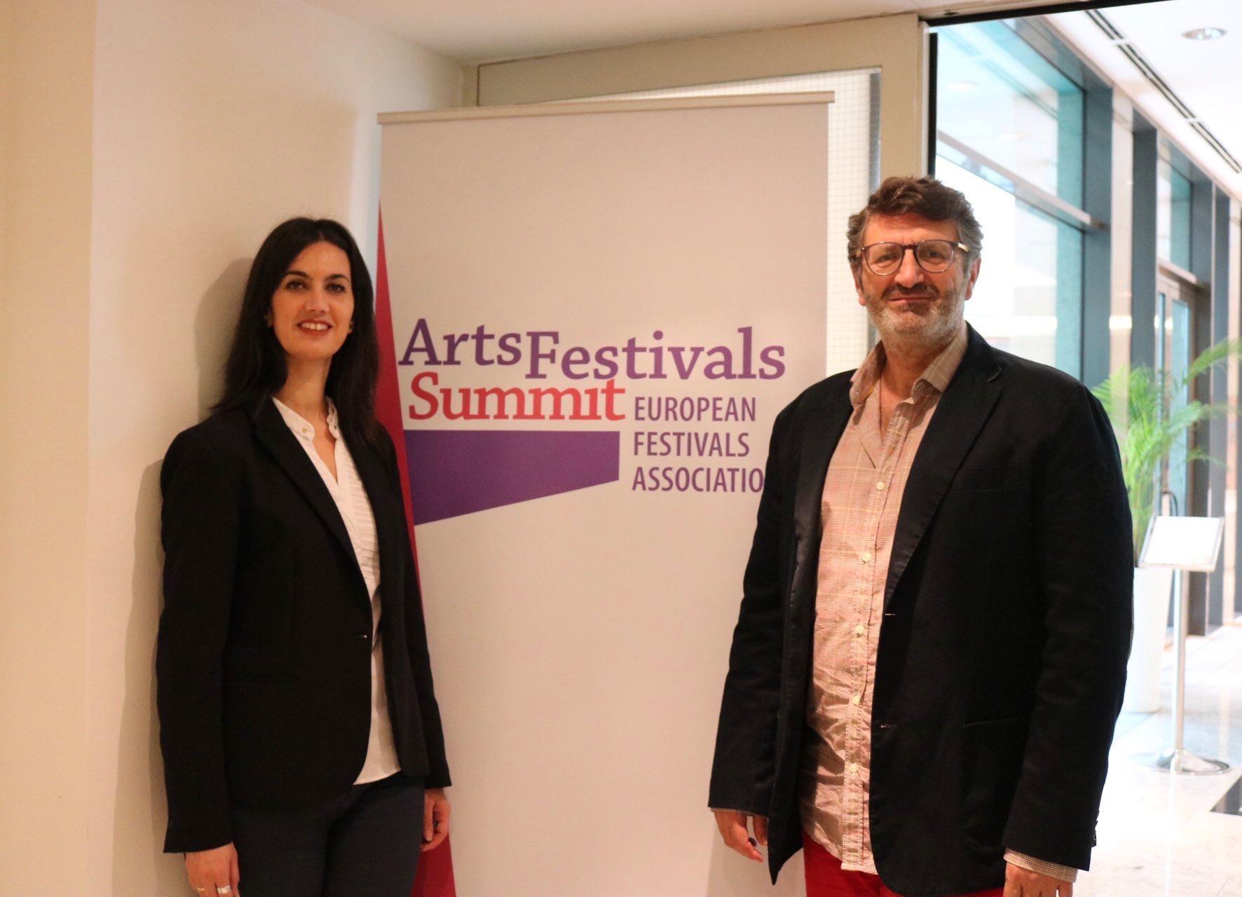 El Festival de Mérida participa en Liubliana en la Cumbre de Festivales de las Artes de Europa